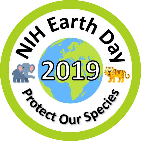 2019 Earth Day Sticker for the Bethesda campus